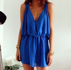cobalt blue. absolutely love this