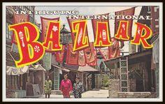 Intriguing International Bazaar 1960s Vintage by EphemeraObscura