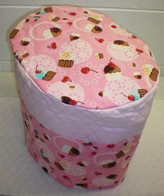 Check out this item in my Etsy shop https://www.etsy.com/listing/158805483/pink-quilted-cupcake-cover-for-k45-elite