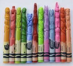 Animal crayons #kid
