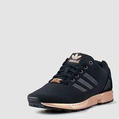 Adidas ZX Flux S78977 Core Black Copper Torsion New Womens 7 | eBay