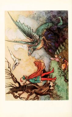 The Fairy Book, 1863  Illustrations by Warwick Goble
