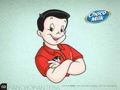Quien no crecio con Pancho Pantera el Campeon Choco Milk