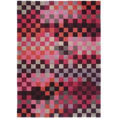 Esprit Pixel Red Rug - £89 > http://www.modern.co.uk/p/Esprit_Pixel_Red_Rug.htm