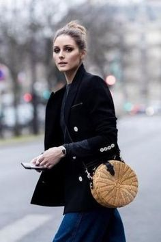 48380d45679b We thought we knew Olivia Palermo and her fashion proclivities. But turns  out OP is officially a Mango girl and loves this bag.