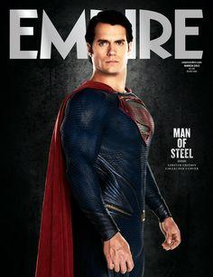 Henry Cavill, Man of Steel  Empire, March 2013