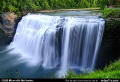 Middle Falls of Genesee River at 105 Feet Tall Picture