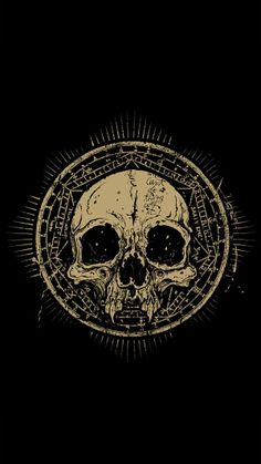 minimalism the skull
