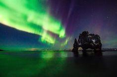 Nordlichter in Island