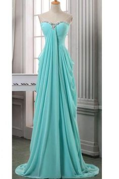 Turquoise Prom Dresses with Rhinestones vestido formatura longo Real Photo Long Imported Party Dress Cheap CS575