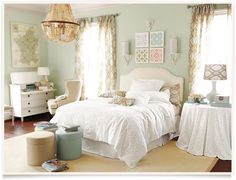 Ballard Designs  |  Alessandra Bedroom