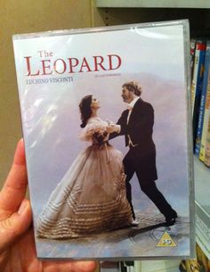 "Our #DVDofTheWeek is ""The Leopard"" by Luchino Visconti. ""It's 50 years since the Rome premiere of Luchino Visconti's sweeping epic The Leopard, a film classic that proved a key influence on The Godfather"": read more on the @bfi hir webpage! You can find this DVD in #London also at The Italian Bookshop, the only place with the largest collection of Italian DVD with English subtitles. (Do you like Italian Cinema? Support our ""Italian Docs Online"":#IDO14)"