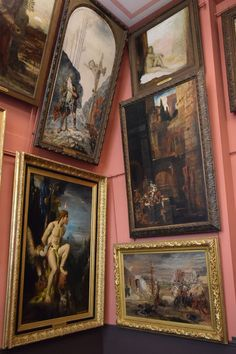 Musée Gustave Moreau : Musée Gustave Moreau, Paris Art One of the most popular attractions in the Saint Georges neighborhood is the Musée Gustave Moreau. Paris Kunst, Paris Art, Art Parisien, You Are My Moon, Art Et Architecture, Art Hoe, Renaissance Art, Aesthetic Art, Aesthetic Outfit