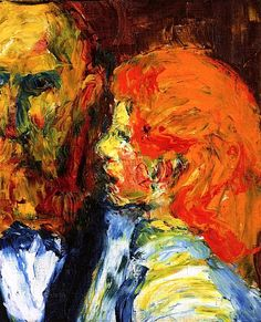 H. and Daughter Emil Nolde - 1910