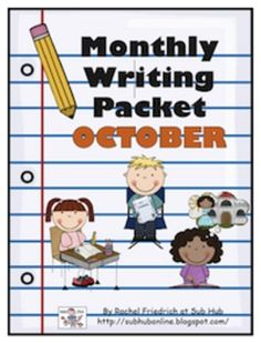 Monthly Writing Packet: October