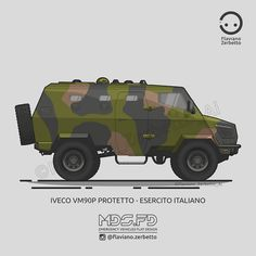 Blog di archivio delle illustrazioni VW di Kombit1, pagina instagram Army Vehicles, Armored Vehicles, Jeep Renegade, Chevrolet Tahoe, Military Weapons, Automobile, Land Rover Defender, Police Cars, Ambulance