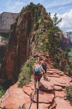 #brianstowell:    Angels Landing the final approach Zion National Park Utah