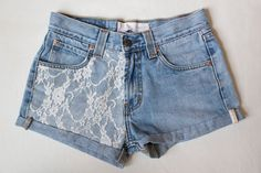 Vintage Style Levi High Wasted Shorts by sjsteed on Etsy, $40.00