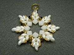 super duo snowflake - Bing Images.  Dang it!  I wish I knew where this came from, I'd get the pattern.  Love this!