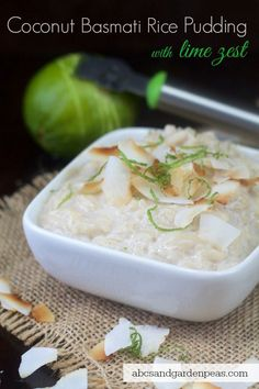Coconut Basmati Rice Pudding [ad] @SamsClub #SamsClubMag