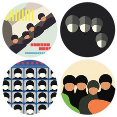 Please Please Me, With the Beatles, A Hard Day's Night, and Beatles for Sale