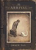 The Arrival-Shaun Tan: Wordless graphic novel, portrayed by the detailed, imaginative, and interesting pictures. Coming from the point of view of immigrants and refugees. Shaun Tan, Wordless Picture Books, Wordless Book, Good Books, My Books, Free Books, The Arrival, Book Week, Children's Literature