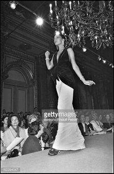 Yves Saint Laurent Fall/Winter Collection fashion show. Ysl, Fashion News, Fashion Show, Winter Collection, 1980s, Yves Saint Laurent, Retro Vintage, Saints, Fall Winter