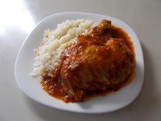 Ragout of Chicken Greek Food