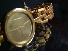 Sophie E Ellis 'WATCH WITH ONE SOLID GOLD LINK BRACELET' SEEDESIGNSCONTACT@GMAIL.COM