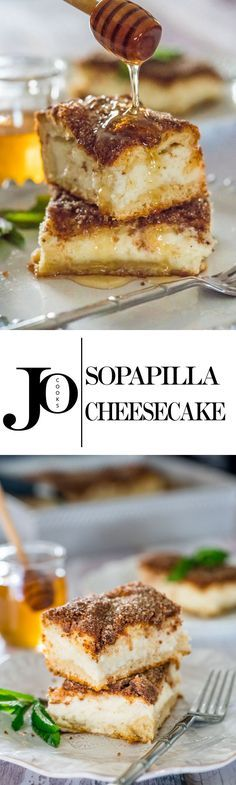 Sopapilla Cheesecake – an embarrassingly easy to make cheesecake that's ridiculously delicious and will totally blow your mind.
