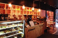The Shelf, High Street // They have the best iced coffees and mocha