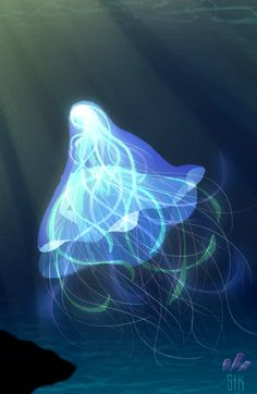 ArtStation - Jellyfish Mermaid Bride, Sebastian Kim