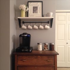 Our new coffee bar!