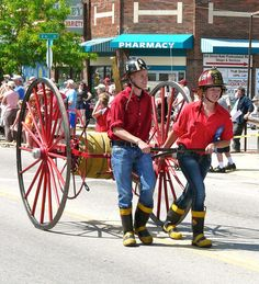 Antique fire equipment, trucks, cars and tractors will be rolling down Main Street during the Western Heritage Days parade in Stevensville, #Montana