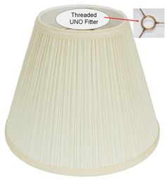 "Slip Uno Fitter Lamp Shade Stunning Small Pleated Lamp Uno Shade Hardback 4""x6""x5 For Antique Table Decorating Inspiration"