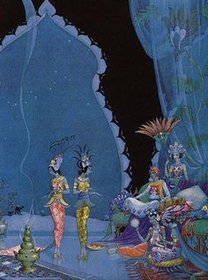 virginia sterret painting   penetrates:The Arabian NightsVirginia Frances Sterrett