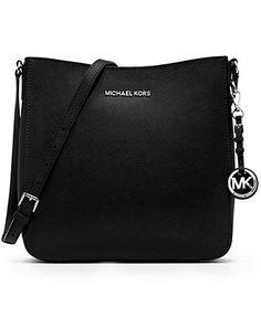 MICHAEL Michael Kors Handbag, Jet Set Travel Large Saffiano Messenger Bag