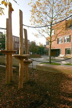 Groen Schoolplein Den Haag:  Scholen door House of Green