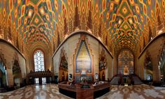 Guardian Building Panoramic Interior  www.downwithdetroit.com