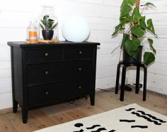 Dresser As Nightstand, Table, Furniture, Home Decor, Decoration Home, Room Decor, Tables, Home Furnishings, Home Interior Design