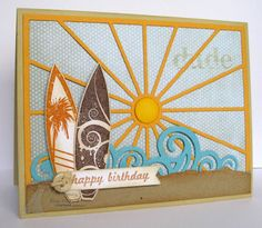 Cards by Kerri: Taylored Expressions June Sneak Peek: Ride the Wave Border and Stars & Stripes!