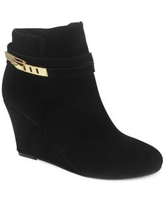 Chinese Laundry Unleash Wedge Booties