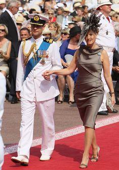 Los Condes de Wessex en la boda religiosa de Alberto y Charlene