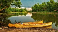 Meet The Skin-On-Frame Canoe Cleaning Midwestern Rivers