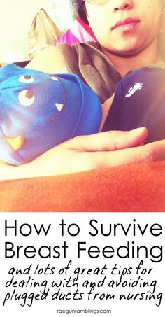 Best list of ideas and tricks to try when dealing with plugged ducts from breast feeding