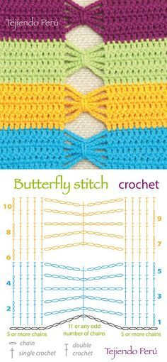 Watch This Video Beauteous Finished Make Crochet Look Like Knitting (the Waistcoat Stitch) Ideas. Amazing Make Crochet Look Like Knitting (the Waistcoat Stitch) Ideas. Crochet Stitches Free, Crochet Motifs, Crochet Diagram, Crochet Chart, Love Crochet, Diy Crochet, Knitting Stitches, Crochet Patterns, Double Crochet