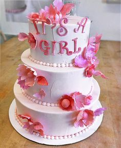 Great idea for Meaggen baby shower! I can't wait I get to watch a baby girl finally no more boys :)