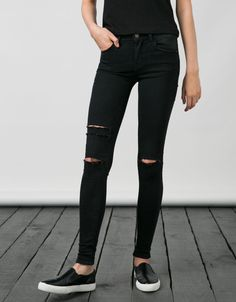 BSK stretch jeans. Discover this and many more items in Bershka with new products every week