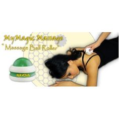 massage therapy ball roller 2 pc. deluxe set