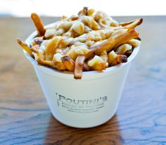 If I had to pick the best poutine in Toronto, I would have to go with Poutini's for their slick homemade gravy, melty curds and perfect hand-cut fries. And if you're going to go big, add an extra laye (How To Make Gravy For Poutine) Poutine, Best Restaurants In Toronto, Hand Cut Fries, My Favorite Food, Favorite Recipes, Toronto Travel, Ontario Travel, Canadian Food, Canada Travel